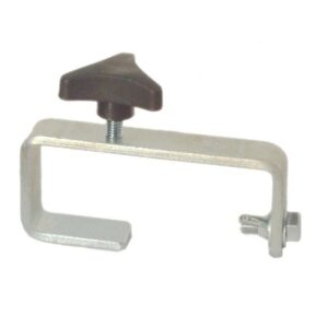50mm Hook Clamp Silver