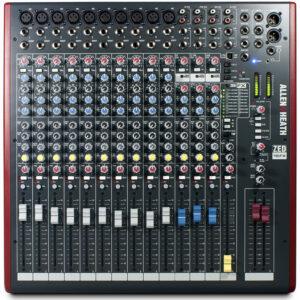 Allen & Heath ZED16FX Mixing Console