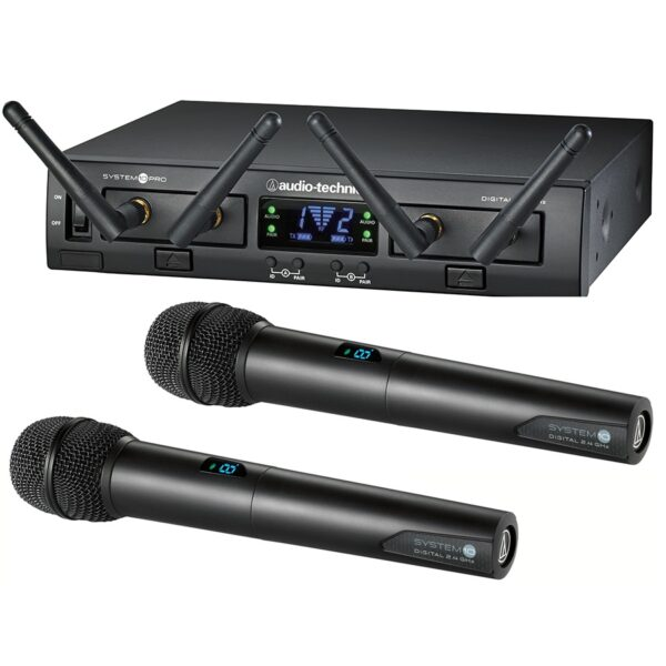 Audio Technica System 10 PRO Rack-Mount Digital Dual Wireless Microphone System 1