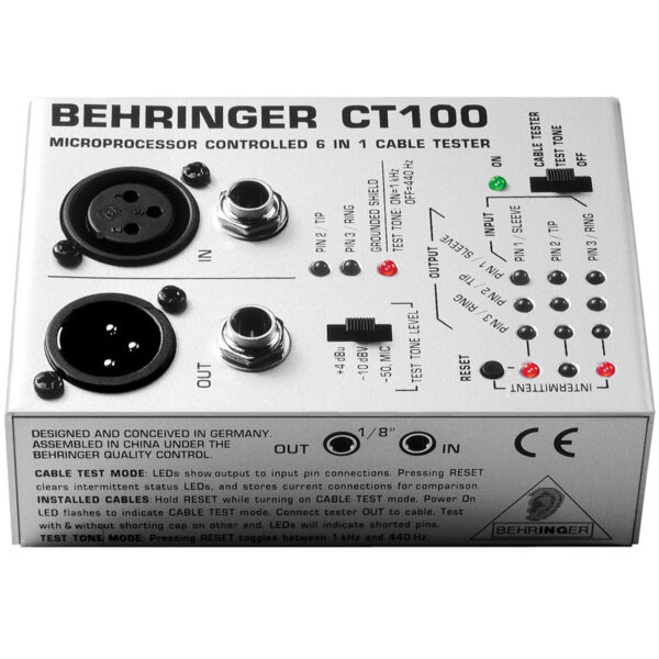 Behringer CT1 Cable Tester 1