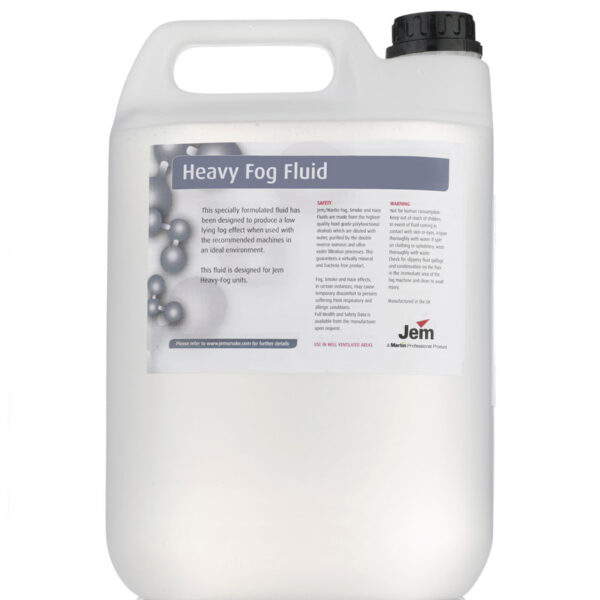 JEM B2 Heavy Fog Juice To Suit Glaciator 5 Litre