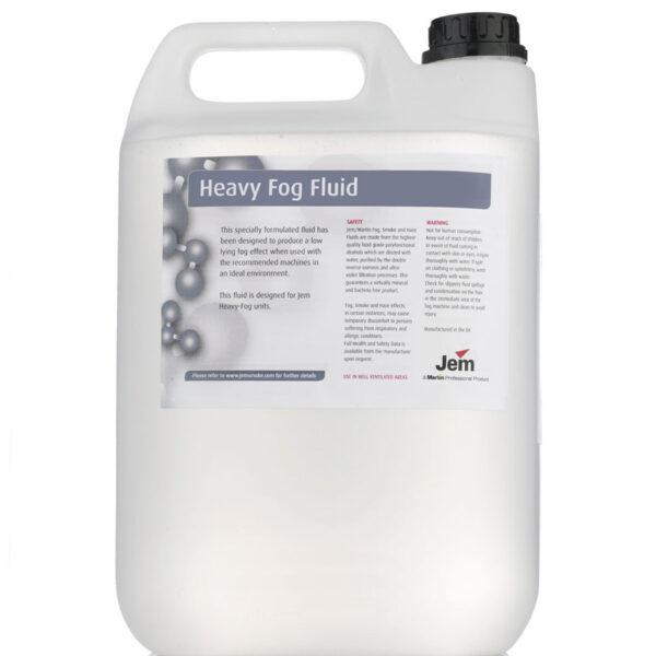 JEM B2 Heavy Fog Juice To Suit Glaciator 5 Litre 1