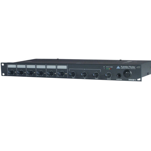 Australian Monitor MX61, 6 Channel Mixer