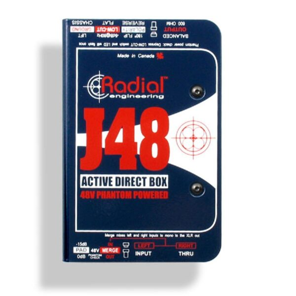 Radial J48 Active DI Box 1