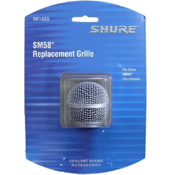 Shure RK143G Replacement Grille For SM58