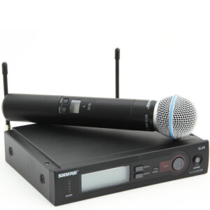 Shure SLX Beta 58A Wireless Microphone System