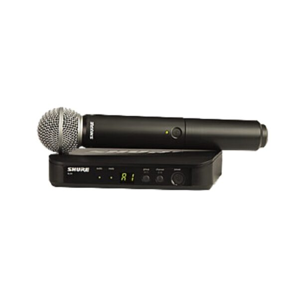 Shure BLX24/SM58 Wireless Vocal Microphone System 1