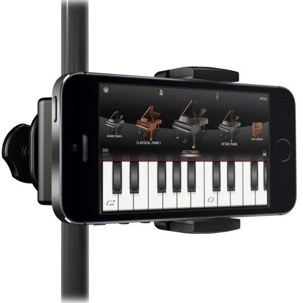iKlip Xpand Mini Microphone Stand Smart Phone Holder 4