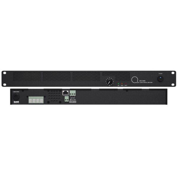 Quest QTA1240D – 240 Watt Commercial Power Amplifier 1