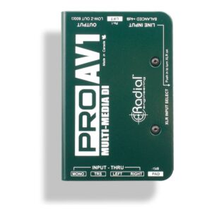 Radial Pro AV1 Multimedia DI Box