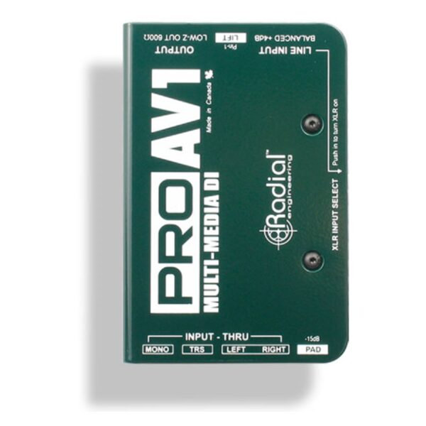 Radial Pro AV1 Multimedia DI Box 1
