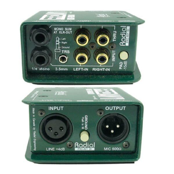 Radial Pro AV1 Multimedia DI Box 2