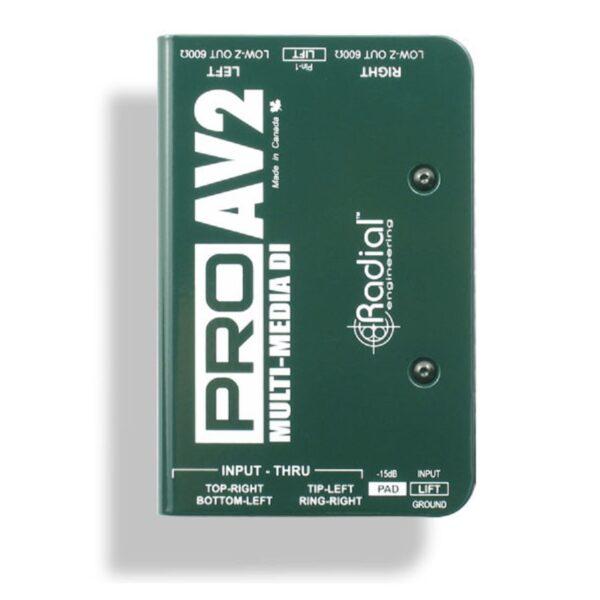 Radial PROAV2 Multi-Media DI Box 1