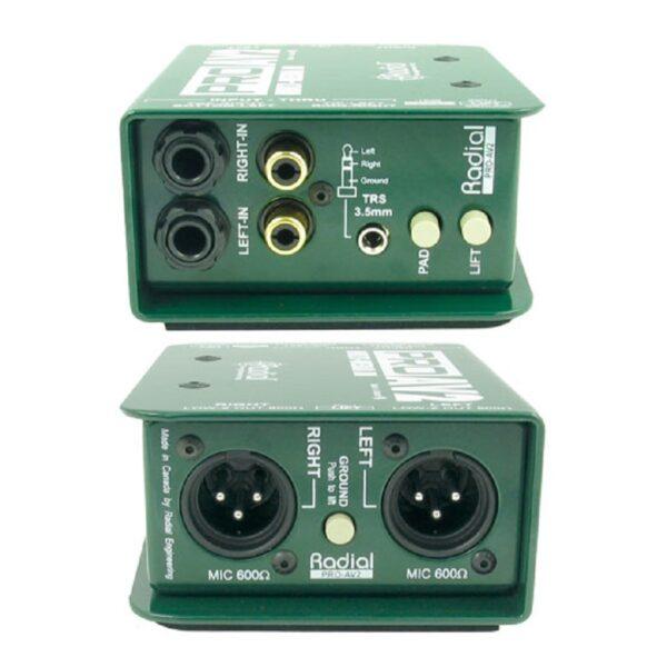 Radial PROAV2 Multi-Media DI Box 2