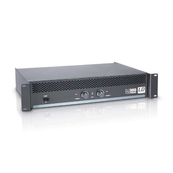 LD_Systems_DJ300_Dual_Channel_Power_Amplifier_front